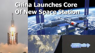 China's  ISS Competitor Begins Construction In Orbit