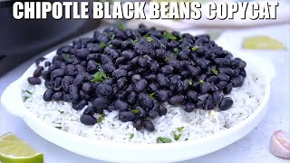 How To Make Chipotle Black Beans Copycat Recipe - Sweet And Savory Meals