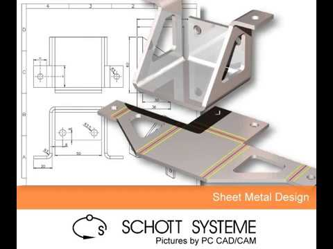 Pictures by PC CAD Software - Sheet Metal Design