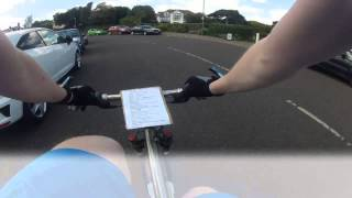 preview picture of video 'Checking out the Bournemouth Marathon route'