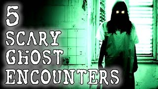 5 Terrifying Ghost Encounters | SERIOUSLY STRANGE #83