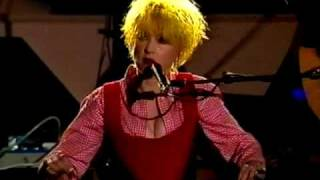 Cindy Lauper - Time after time (World Liberty Concert 1995)