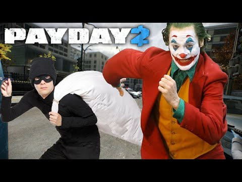 Practicing in Payday 2 before I rob a bank in real life