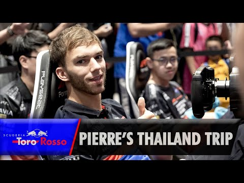 Image: Watch: Gasly's trip to Bangkok with Toro Rosso