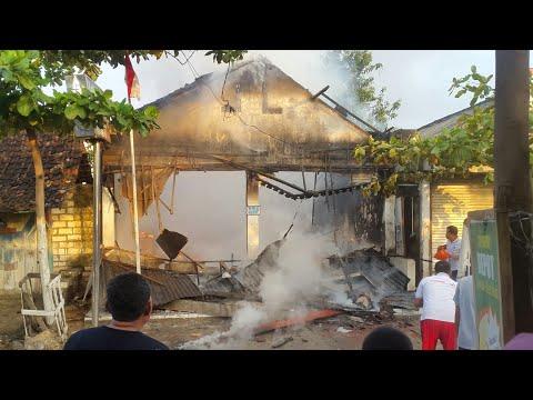 Bank BRI prambontergayang soko tuban kebakaran