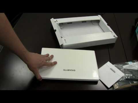 Gigabyte M1305 Booktop Unboxing und erste Eindruecke