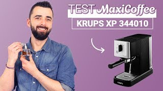 KRUPS XP 344010 | Machine expresso compacte | Le Test MaxiCoffee