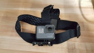 GoPro Head Strap and Quickclip - Unboxing and Review