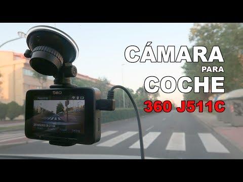 Cámara para el coche 360 J511C, review en español