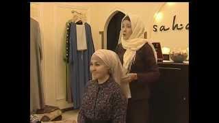 Учимся красиво повязывать платок с магазином мусульманской одежды Sahara
