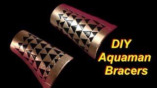 DIY Aquaman Costume Bracers