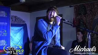 "Star 99.9 Michaels Jewelers Acoustic Session With James Arthur: ""Falling Like The Stars"""