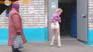 Подборки приколов - Пьяницы устраивают спектакль