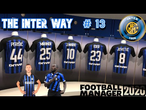 fm20 the inter way ep13.  champions league group stage real madrid