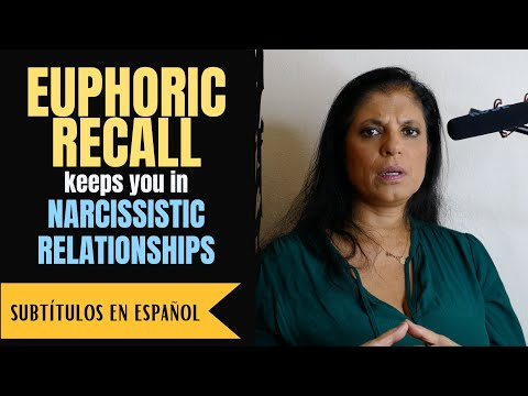Euphoric recall keeps you trapped in the NARCISSIST'S web
