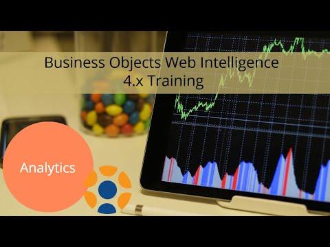 Business Objects Web Intelligence 4.x Training - YouTube