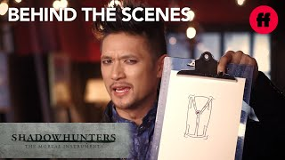 Shadowhunters | Behind the Scenes Season 2: Cast Designs Their Own Runes | Freeform