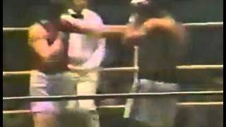 Muhammad Ali in Moscow. Ali vs Russian boxers