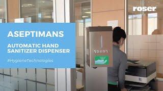 ASEPTIMANS AUTOMATIC HAND SANITIZER DISPENSER