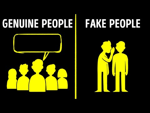 12 Signs You're Dealing With a Fake Person