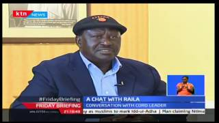 CORD Leader Raila Odinga talks about the 10 year journey of ODM and the Opposition struggle