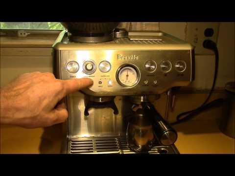 Breville BES870XL - Grinder Adjustment