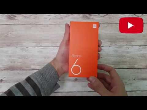 Смартфон XIAOMI Redmi 6 3GB/32GB Gold EU