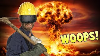 END OF THE WORLD! - Mining In Virtual Reality - Cave Digger VR Gameplay