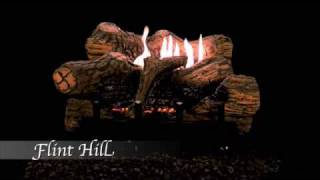 Flint Hill Ceramic Fiber Log Set & Burner Combo by Empire Comfort Systems