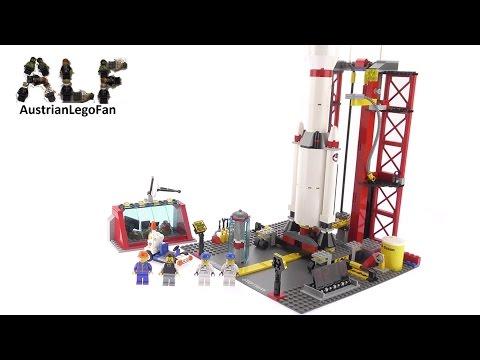 Vidéo LEGO City 3368 : Le centre spatial