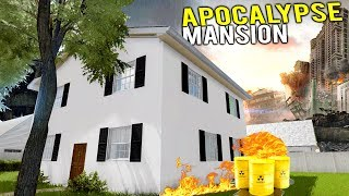 BUILDING THE FINAL MILLION DOLLAR APOCALYPSE MANSION! - House Flipper Gameplay