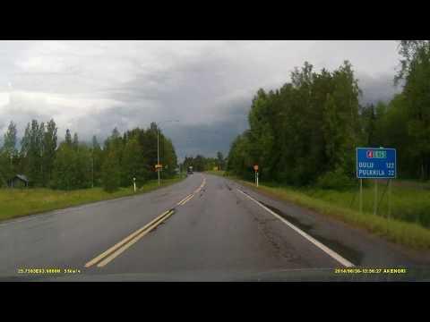 4. Kuopio (Куопио) - Oulu (Оулу) - Rovaniemi (Рованиеми) 30 июня