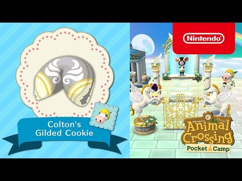 Animal Crossing: Pocket Camp - Colton's Gilded Cookie