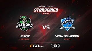 Heroic vs Vega Squadron, map 2 nuke, SL i-League StarSeries Season 3 Europe Qualifier