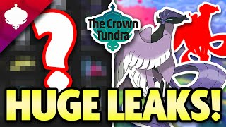 NEW POKEMON LEAKED in CROWN TUNDRA! HUGE LEAKS for Pokemon DLC! by aDrive