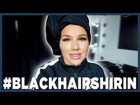 Ich färbe meine Haare schwarz   Shirin David