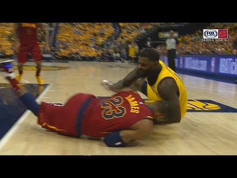 LeBron James Gets Bullied By Lance Stephenson On Defense! Cavaliers vs Pacers