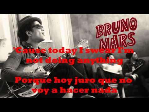 BRUNO MARS - THE LAZY SONG / SUBTITULADA (INGLES/ESPAÑOL)