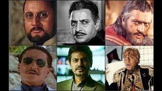 Top 30 Greatest Bollywood Villain of All Time  - Top 30 Greatest Villainous Actors of All Time