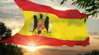 Flag And Anthem Of Spain (1938-1945)