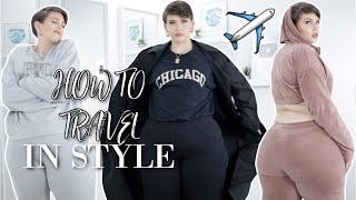 STYLISH & COMFY AIRPORT OUTFITS!