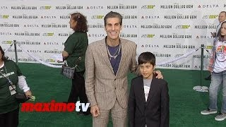 "Jane's Addiction Perry Farrell and Hezron Wolfgang Farrell ""Million Dollar Arm"" Premiere"