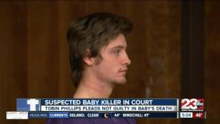 Tobin Phillips to appear in court for killing eight-month-old baby