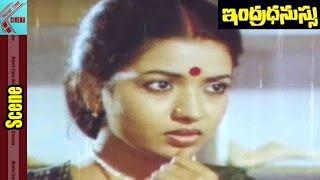 Jeevitha Nice Love Scene || Indradhanussu Movie || Rajashekar, Jeevitha || MovieTimeCinema