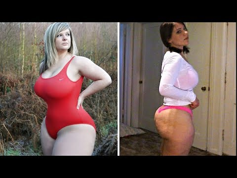 BBW Pawg's Mal Malloy & Olivia Jensen Weight Gain Progression Part 2