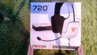 Tritton AX-720+ 7.1 Headset Review & Unboxing Deutsch/German