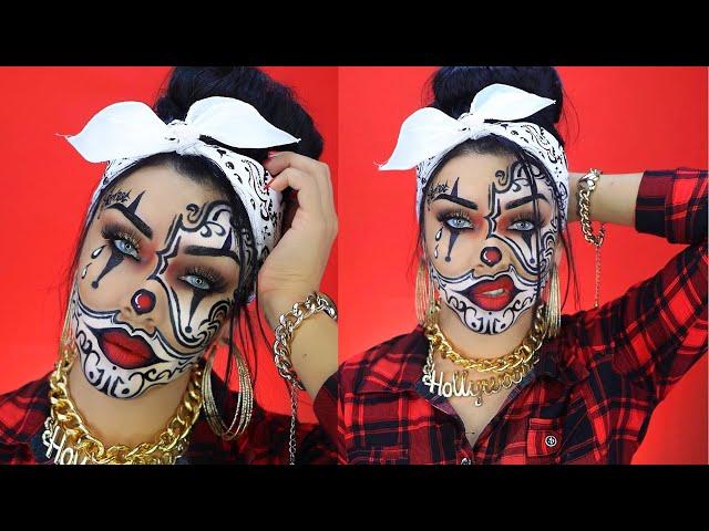 Payasa-gangster-makeup-halloween