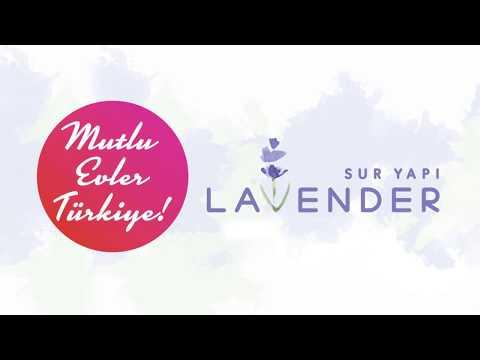 Sur Yapı Lavender'de Mutlu Evler Türkiye
