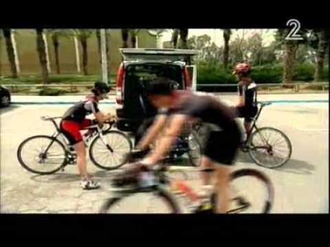 חדשות ערוץ2 (מאי )2012 פסקל ברקוביץ' הפכה את האסון לקריירה אולימפית