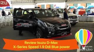 รีวิวอีซูซุรุ่นใหม่! X-Series Speed 1.9Ddi Z สีดำ (อีซูซุเอ็กซ์-ซีรี่ส์ สปีด 1.9 ดีดีไอ ทรงเตี้ย)